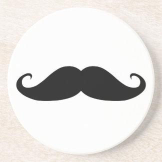 Moustache coasters! coaster