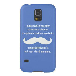 Moustache joke galaxy s5 case