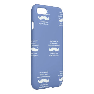 Moustache joke iPhone 8/7 case