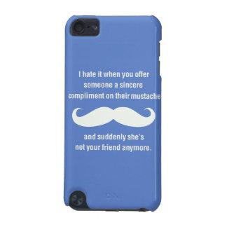 Moustache joke iPod touch 5G case