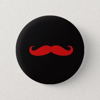 Moustache love 2 inch round button