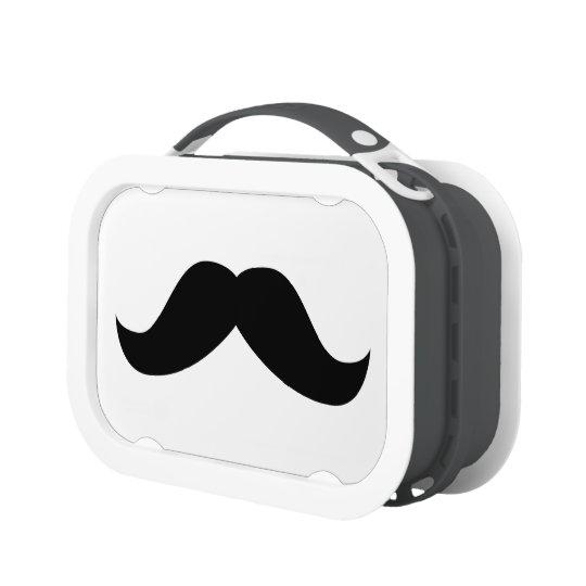 Moustache Lunch Box