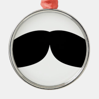 moustache metal ornament