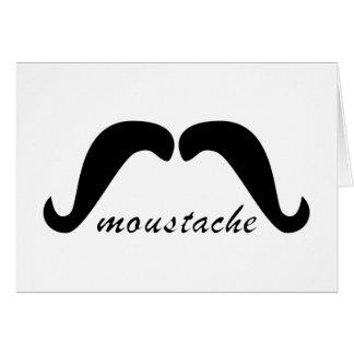 Moustache moustache greeting cards