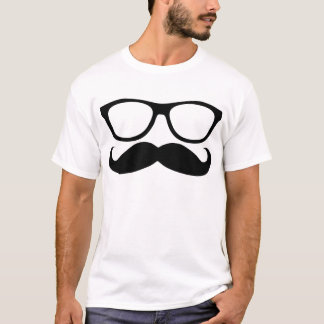 Moustache Nerd T-Shirt