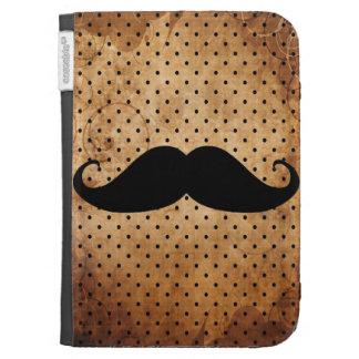 Moustache noire drôle étuis kindle