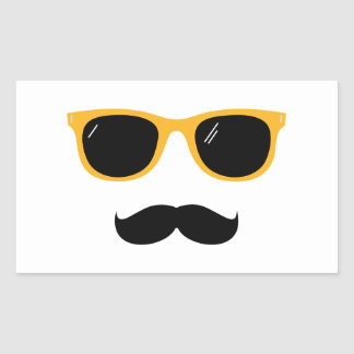 Moustache Sticker