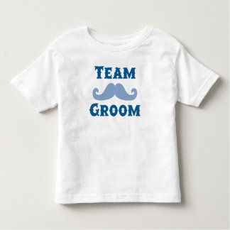 Moustache Team Groom Tee Shirts