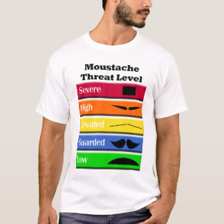 Moustache Threats T-Shirt