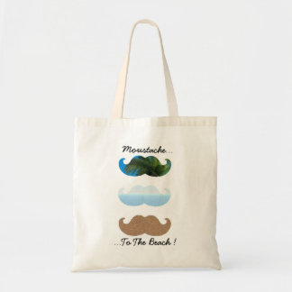 Moustache.. To The Beach! Tote Bag