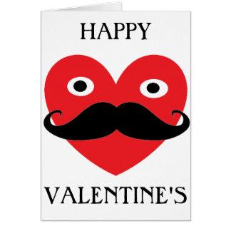 Moustache Valentines Card 2