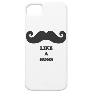 Moustache your iPhone 5 like a BOSS iPhone 5 Covers
