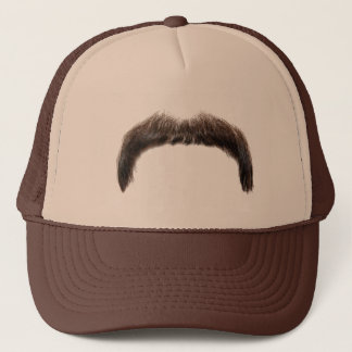 moustachehat trucker hat