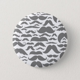 Moustaches a background 2 inch round button