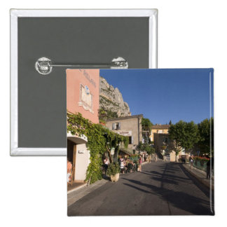 Moustiers-Sainte-Marie, Provence, France. 2 2 Inch Square Button