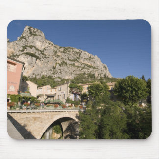 Moustiers-Sainte-Marie, Provence, France. Mouse Pad