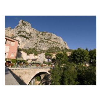Moustiers-Sainte-Marie, Provence, France. Postcard