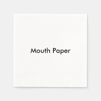"""""""Mouth Paper"""" Paper Napkins"""