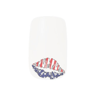 MOUTH USA Minx Nail Art Decals