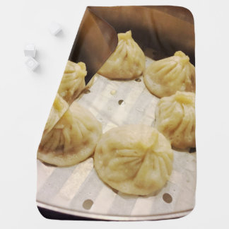 Mouthwatering || Little Dragon Dumplings || Photo Baby Blanket