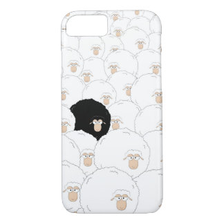 Moutons noirs coque iPhone 7