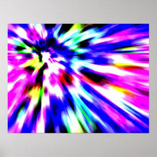 Mouvement de couleur posters