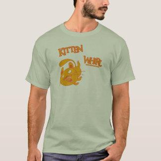 Mouvement giratoire de chaton t-shirt