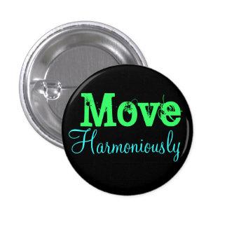 Mouvement harmonieusement badge