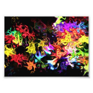 Move Abstract Feel Photo Print