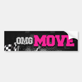 Move Bumper Sticker (Pink)
