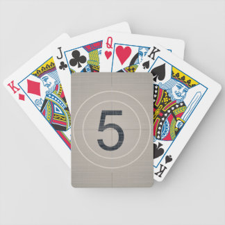 Move Countdown Bicycle Playing Cards
