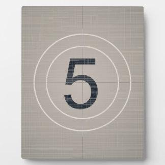 Move Countdown Plaque