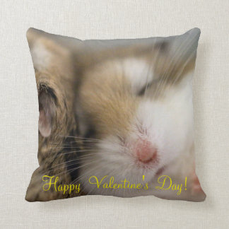 Move over Bob Valentine's day Throw Pillow