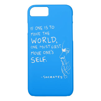 Move The World - Socrates Quote iPhone 7 Case
