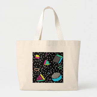 move to memphis large tote bag