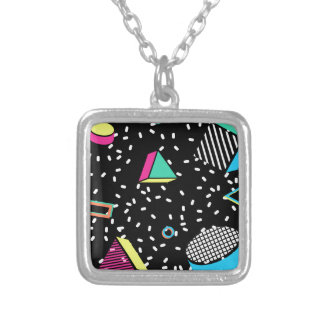 move to memphis silver plated necklace