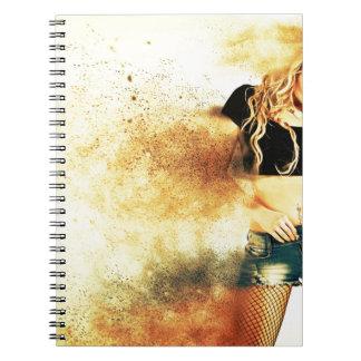 movement-1639989 spiral notebook