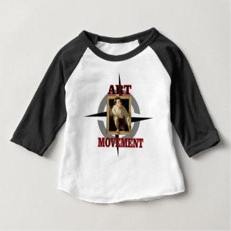movement art boy baby T-Shirt