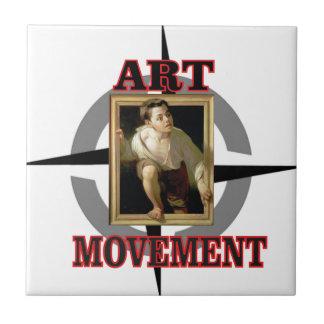 movement art boy ceramic tiles