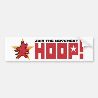Movement bumper sticker
