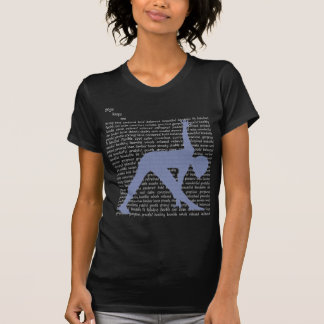 Movement Yoga and Pilates--Yoga Adjectives T-Shirt