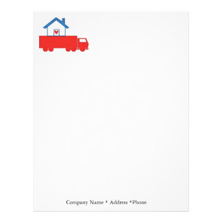 Mover Trucking Letterhead