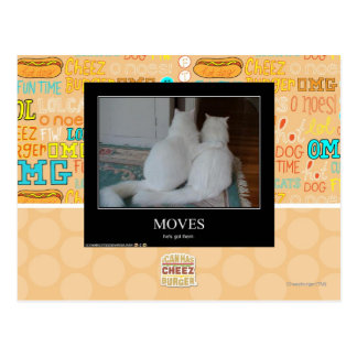 Moves Postcard