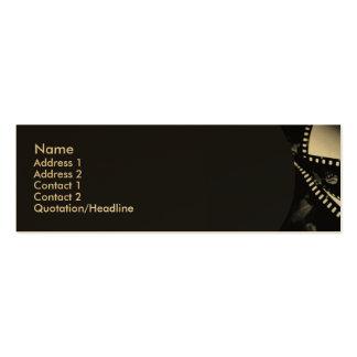 Movie #1 Profile Card Mini Business Card