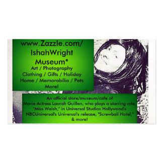 Movie Actress Laura Guillen aka Ishah Business Cards