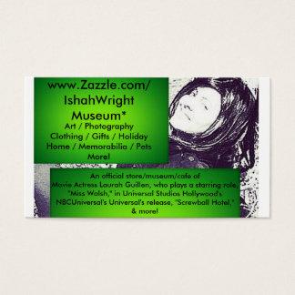 Movie Actress Laura Guillen aka Ishah Business Card