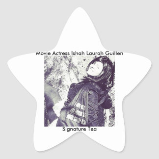 Movie Actress Laura Guillen aka Ishah Star Sticker