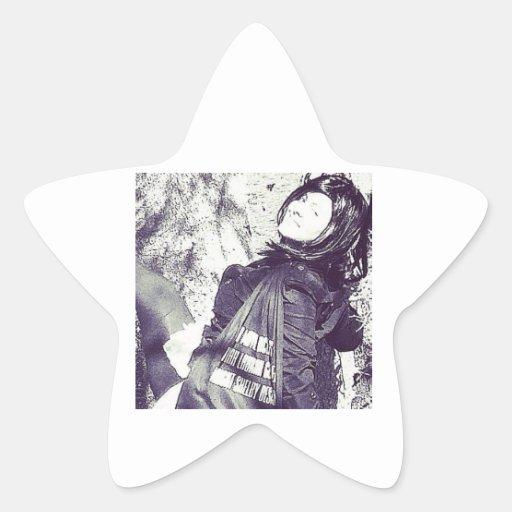 Movie Actress Laura Guillen aka Ishah Star Stickers