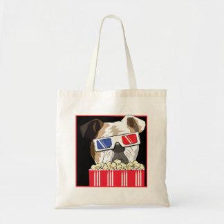 Movie Bulldog Tote Bag
