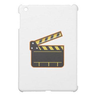 Movie Camera Slate Clapper Board Open Retro iPad Mini Cover